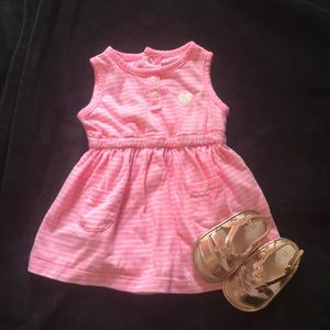Carter's baby girl dress